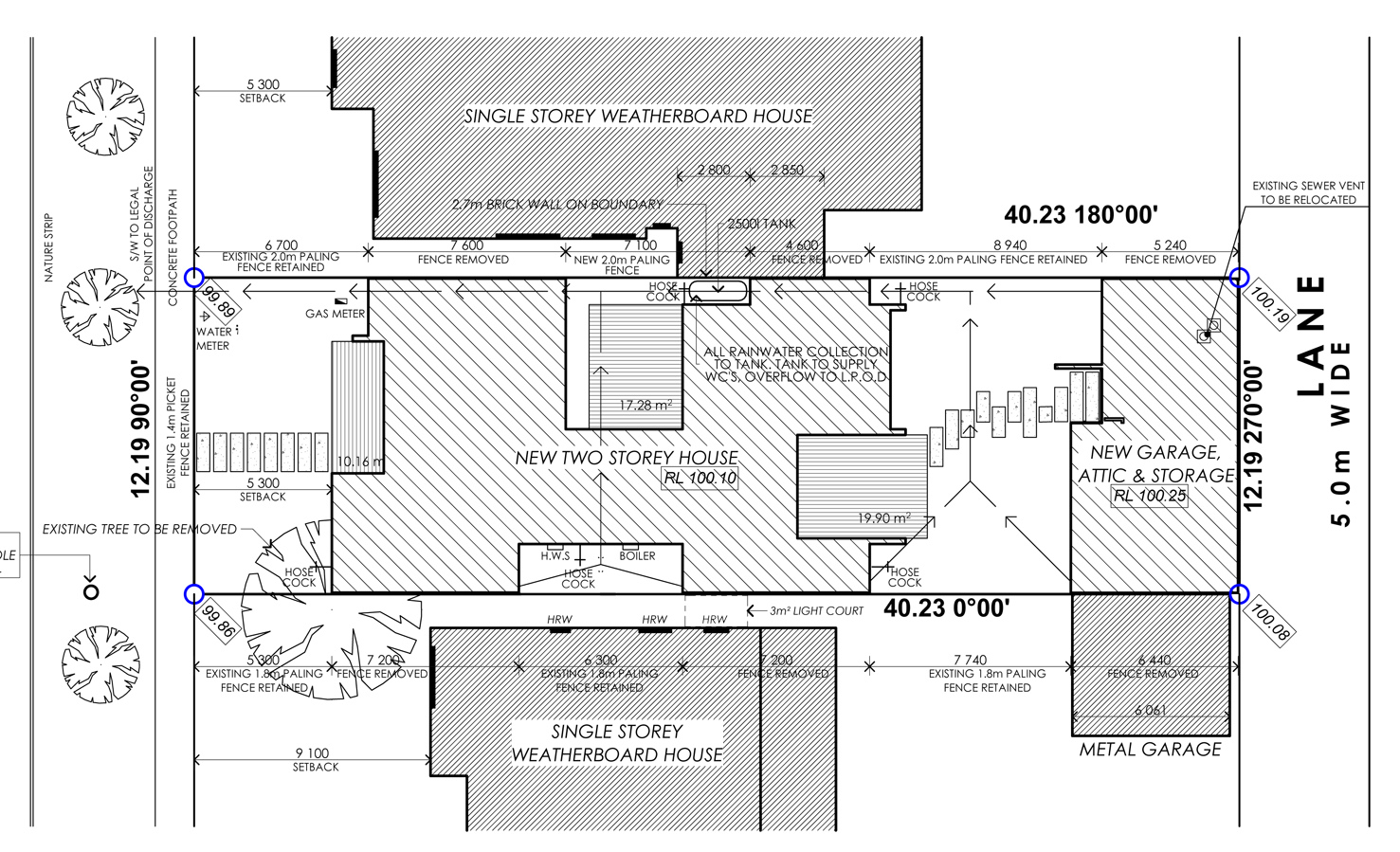 Plans icf house insulated concrete form Home site plan